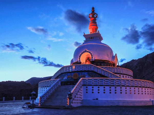 Shanti stupa go2ladakh