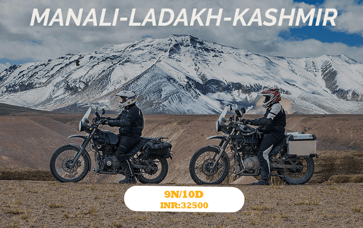 Bike Group tour Manali ladakh Srinagar