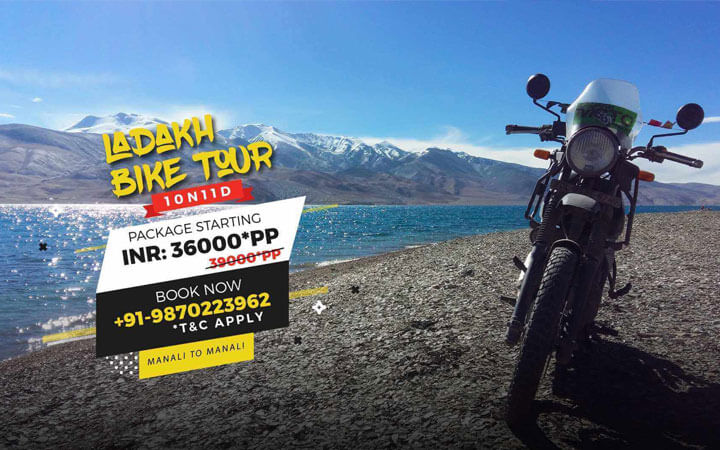 BEST OF LADAKH MOTOR BIKE TOUR