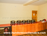 hotel-hunder-eco-villa-buffet-area