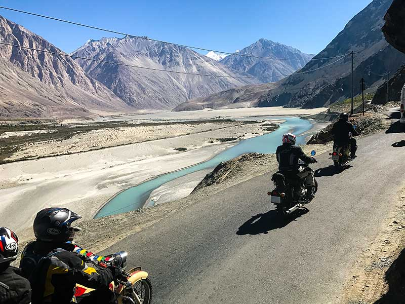 MOTORBIKE EXPEDITION IN THE LAND OF PASSES