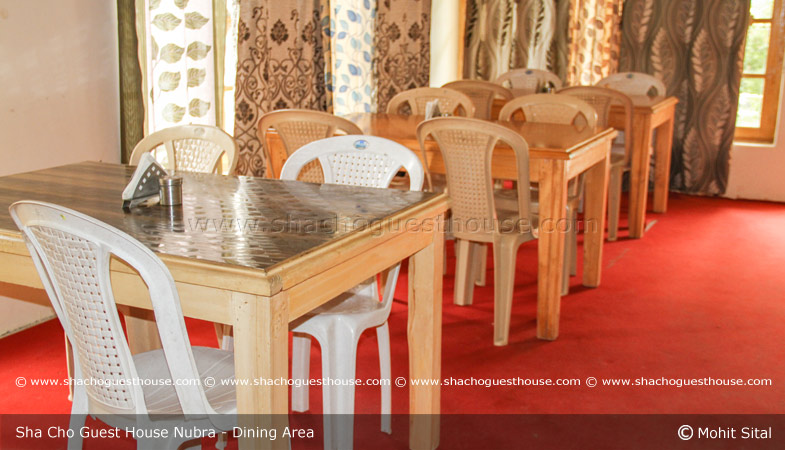 sha-cho-guest-house-nubra-ladakh-dining-area