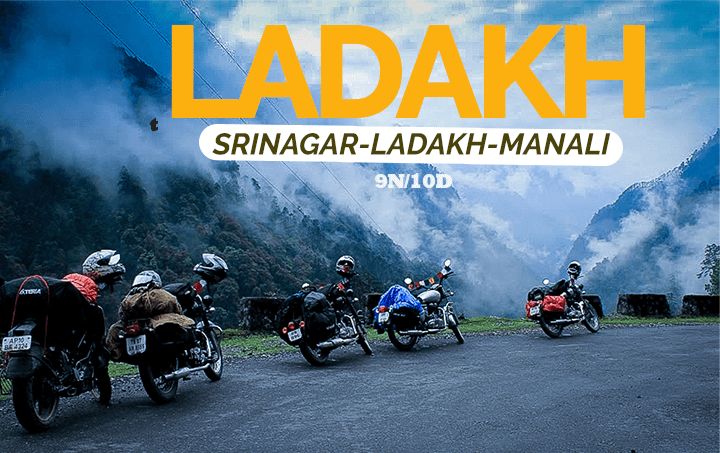 Bike Trip Srinagar Ladakh Manali with Siachen