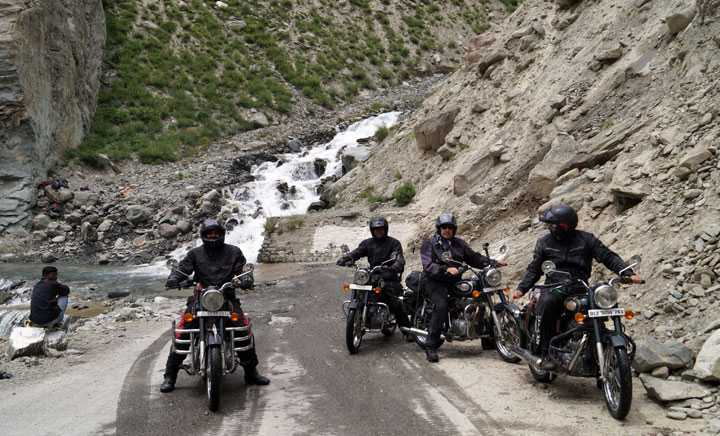 MOTORBIKE EXPEDITION FROM SRINAGAR TO MANALI